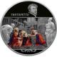 25 рублей 2018 г. Творения Тинторетто, серебро, пруф