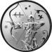 2 рубля 2005 г. Стрелец, серебро, пруф