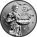 2 рубля 2005 г. Водолей, серебро, пруф