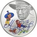 2 рубля 2008 г. Н.Н. Носов, серебро, пруф
