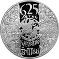 3 рубля 2005 г. 625-летие Куликовской битвы, серебро, пруф