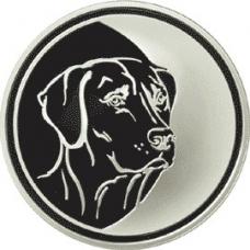 3 рубля 2006 г. Лунный календарь - Собака, серебро, пруф