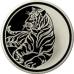 3 рубля 2010 г. Лунный календарь - Тигр, серебро, пруф
