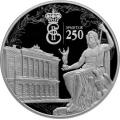 3 рубля 2014 г. 250-летие основания Государственного Эрмитажа, серебро, пруф