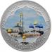 Памятная монета 3 рубля 2015 года Символы России - Троице-Сергиева Лавра, цветная, серебро, пруф