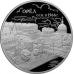 Памятная монета 3 рубля 2016 года 450 лет основания г. Орёл, серебро, пруф