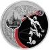 Памятная монета 3 рубля 2017 года ЧМ по футболу FIFA 2018 в России, Москва, серебро, пруф