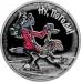 Памятная монета 3 рубля 2018 г. Ну, погоди!, серебро, пруф