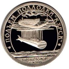 Шпицберген 2001 год Подъем подлодки Курск, СПМД
